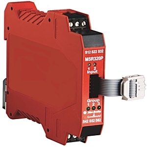 Allen-Bradley 440R-W23218 Relay, Modular Monitoring Safety, No Inputs, Outputs, 2NO Auxiliary