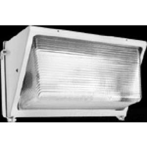 RAB WP4H400PSQW Wallpack, Pulse Start Metal Halide, 1 Light, 400W, 120-277V, White
