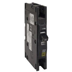 Square D QOU150 Breaker, Lug In/Lug Out, 1P, 50A, 120VAC, Type QO, 10kAIC