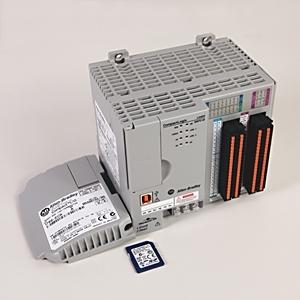Allen-Bradley 1769-L24ER-QBFC1B Controller, 0.75MB Memory, 16 DC Inputs, 16 DC Outputs, 24VDC