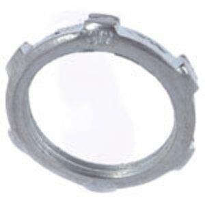 """Thomas & Betts LN-109 Locknut, 3-1/2"""", Steel With Zinc Finish"""