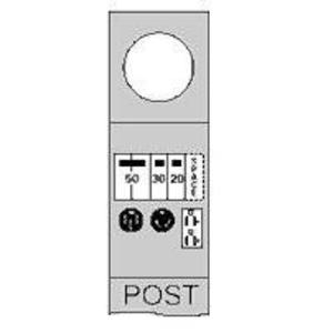 Midwest M075CP4010 100A, 1P, Pedestal - Padmount