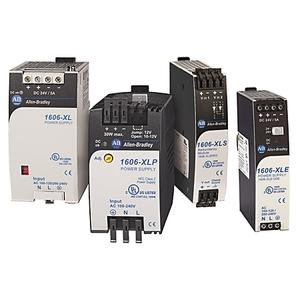 Allen-Bradley 1606-XLP60EQ Power Supply, Compact, 24-28VDC Output, 120/240VAC, 85-375VDC Input
