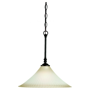 Sea Gull 65935-782 Pendant, 1 Light, 150W, Heirloom Bronze