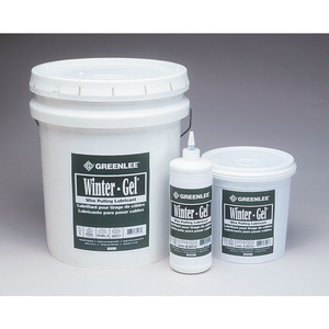 Greenlee WGEL-5 LUBE, 5 GAL WINTER GEL