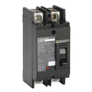 Square D QBL22125 Breaker, Molded Case, 125A, 2P, 240VAC, Type Q-Frame, 10 kAIC