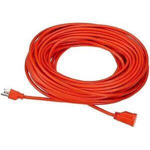 Bizline 100FT123OR Extension Cord, Outdoor - Round, 12/3, 100', Orange