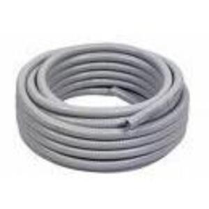 "Multiple UA500GRY25CL Liquidtight Flexible Steel Conduit, Type UA, 5"", Gray, 25'"