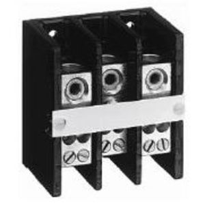 Allen-Bradley 1492-PD3C141 Distribution Block, 175A, 600V AC/DC, 3P, Copper, 1 In/4 Out