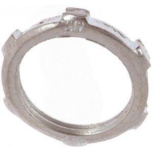 "Thomas & Betts LN-107 Conduit Locknut, 2-1/2"", Steel"