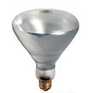 Damar 01520A Incandescent Heat Lamp, Shatter-Resistant, BR40, 250W, 130V