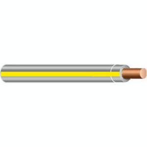 Multiple THHN12SOLGRYYEL500RL 12 AWG THHN Solid Copper, Gray/Yellow Stripe, 500'