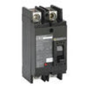 Square D QBL22100 Breaker, Molded Case, 100A, 2P, 240VAC, Type Q-Frame, 10 kAIC