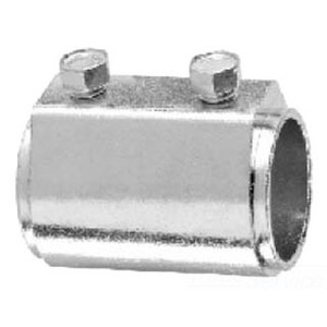 "Cooper Crouse-Hinds 160 Rigid Set Screw Coupling, Size: 1/2"", Malleable Iron"