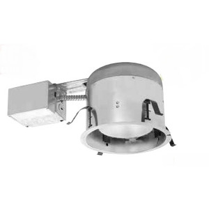"Elite Lighting B26RIC-AT-W 6"" Remodel IC  Shallow Housing"