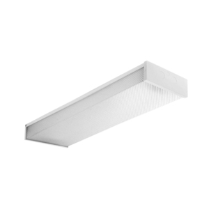 Oracle Lighting 4OEW432T8120 Fluorescent Wrap Fixture, 4', 4-Lamp, T8, 32W, 120V