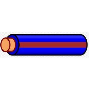 Multiple THHN12STRBLUBRN500RL 12 AWG THHN Stranded Copper, Blue/Brown Stripe, 500'