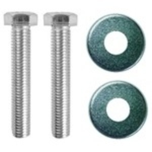 "Oldcastle Precast 08001365 Fibrolite Bolt Kit, Hex Head 3/8 x 2-1/2"", Stainless Steel"