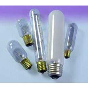 SYLVANIA 15T7DC/BL-120V Miniature Incandescent Lamp, T7, 15W, 120V, Clear