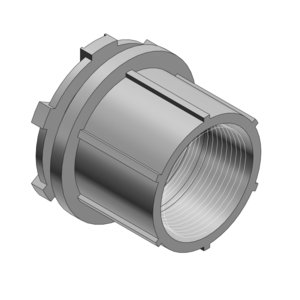 "Thomas & Betts HT2 Conduit Hub, 3/4"", Insulated, Aluminum"