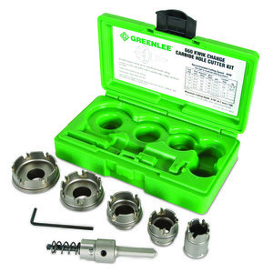 Greenlee 660 Cutter Kit, 7/8 - 2""