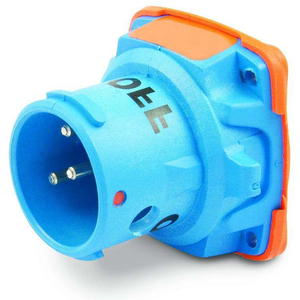 Meltric 63-68043 Pin & Sleeve Plug, 60A, 3PH 480V, DSN60 Series