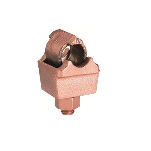 Burndy QGFL34B1 Mechanical Grounding Connector, Type QGFL, 1/0 AWG - 500 MCM, Copper