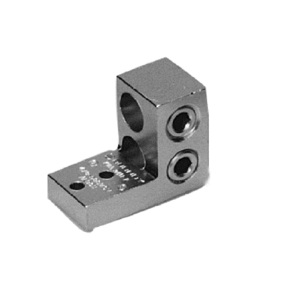 Burndy K11A34U2 Stacked Lug, Aluminum, 2-Conductor, 2-Hole Mount, 4/0 AWG to 500 MCM