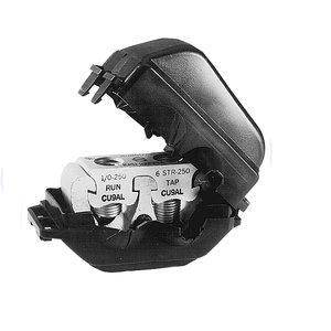 Burndy KPU39A39AC Tap Connector, Insulated, Aluminum,  500 - 750 MCM
