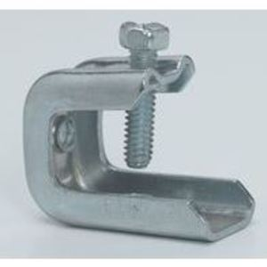 "Cooper B-Line BC442 Beam Clamp, Rod Size: 1/4-20, Flange: 1/8"" to 5/8"", Steel"