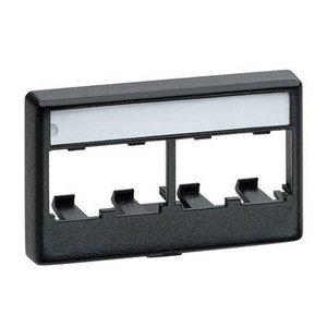 Panduit CFFPL4EI Mini-Com®, Furniture Faceplate