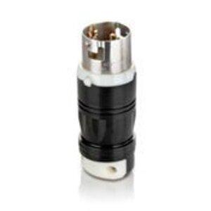 Leviton CS6361C Locking Plug, 50A, 125V, California Style, 2P3W