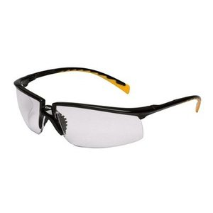 3M 12264-00000-20 Protective Eyewear, I/O Mirror Lens, Black Frame
