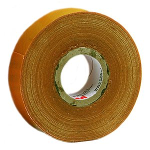 "3M 2520-1X36YD Varnished Cambric Tape, Adhesive, 1"" x 36 Yd"