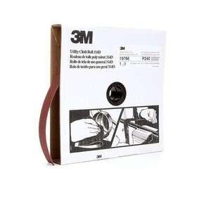 3M 314D-1INX20YD Utility Cloth Roll, 1 in x 20 yd, P240, J-Weight
