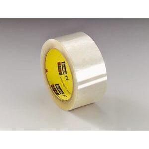 3M 373-CLEAR-48MMX50M Box Sealing Tape, Clear, 48mm x 50m