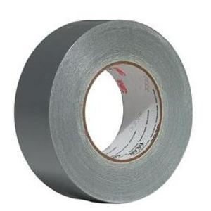 3M 3939-48MMX55M-BULK Utility Duct Tape, 48mm x 54.8m, Silver, 9 mil