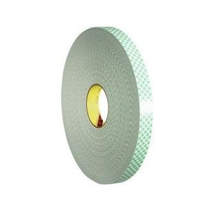 "3M 4032-3/4X72YD Double Coated Urethane Foam Tape, Off-White, 3/4"" x 72 Yd"