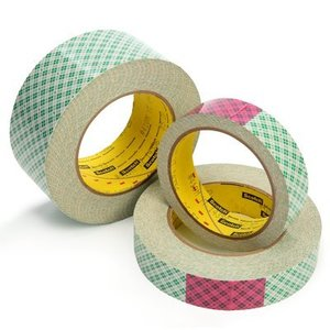 "3M 410M-1.5INX36YD-BULK Double Coated Paper Tape, 1-1/2"" x 36 Yd"