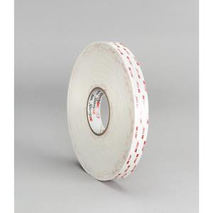 3M 4930(3/4X72YD) Tape, White 12/Case