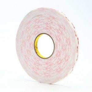 "3M 4950-3/4X36YD-12 Acrylic Adhesive Foam Tape, White, 3/4"" x 36 Yards"