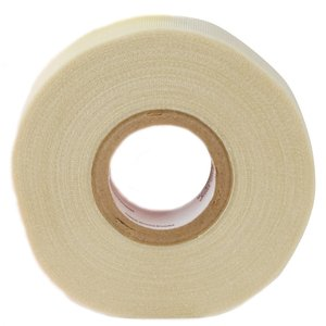 "3M 69-1/2X66 Glass Cloth Tape, White, 1/2"" x 66'"