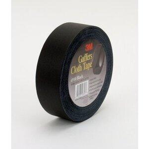 3M 6910-Black Black Cloth Gaffers Tape - 60 yds