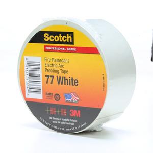 3M 77-WHITE-1-1/2X20FT 3M 77-White-1-1/2x20ft Fire Retarda