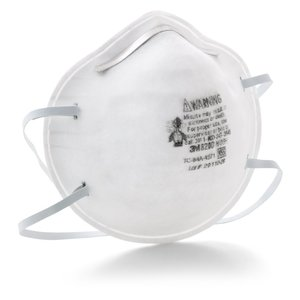 3M 8200 Dust Mask, Particulate Respirator, N95, 20-Pack