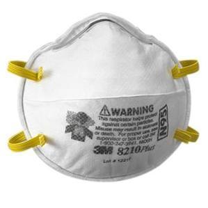 3M 8210-RESPIRATOR-EA Particulate Respirator