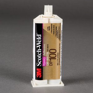 3M DP-100-CLEAR Scotch-Weld Epoxy Adhesive, Clear