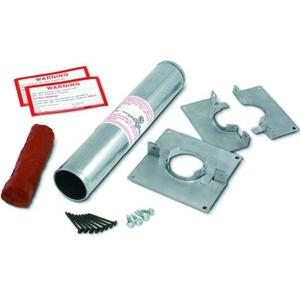 "3M DT200 Fire Barrier Putty Sleeve Kit, 2"" x 12"""