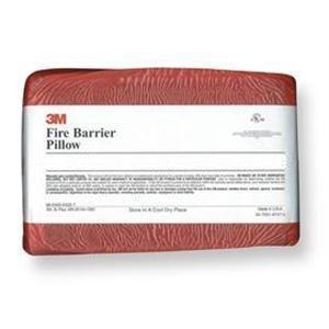 """3M FB-249 Red Fire Barrier Pillow, 2 x 4 x 9"""""""