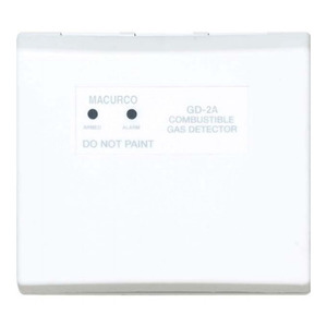 3M GD-2A Combustible Gas Detector, 12 - 24 VAC/DC, Non-Metallic, White